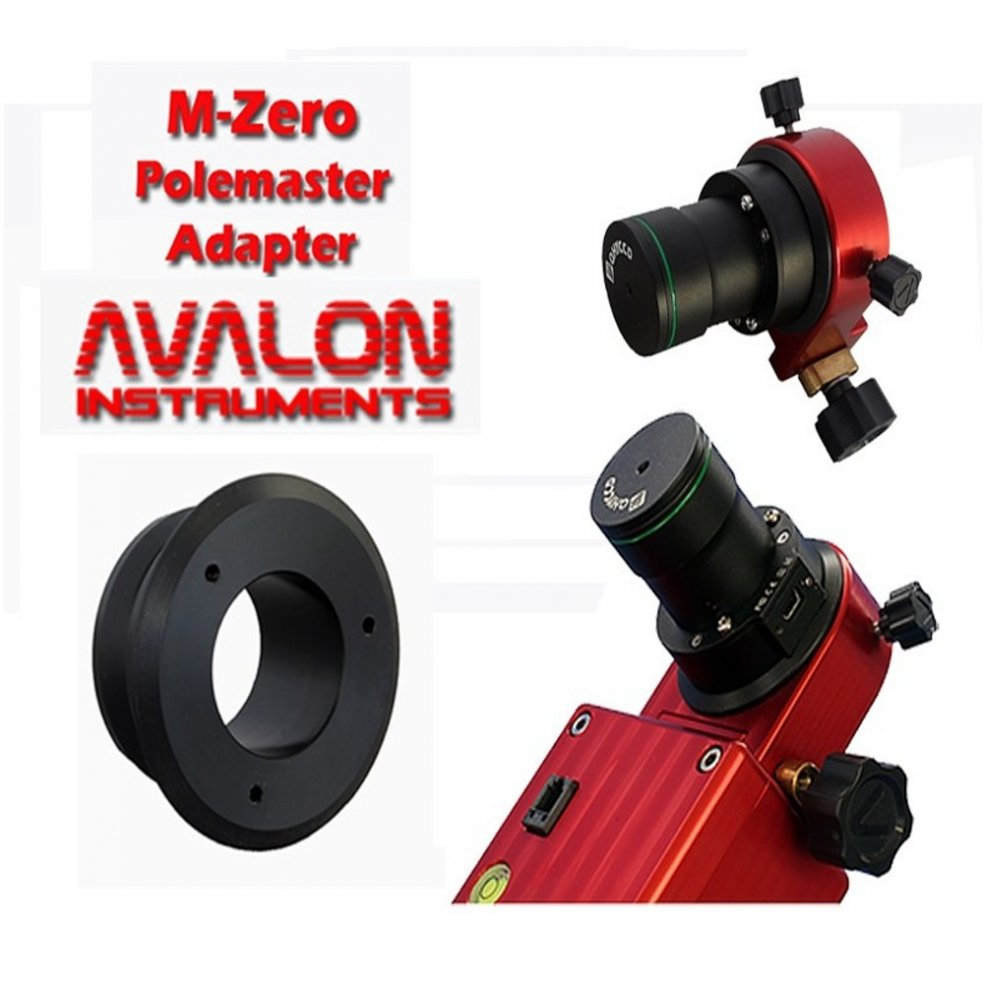 Avalon instruments Adattatore QHY polemaster per montatura M-Zero