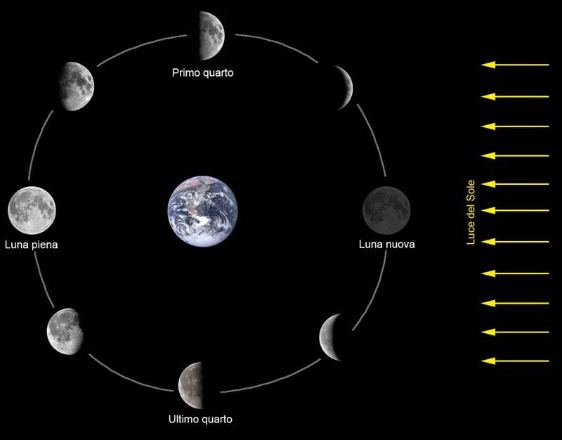 moon phases around the earth - photo #11