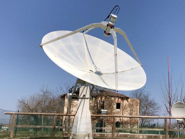 Esperimenti: emissione radio del Sole con i radiotelescopi SPIDER