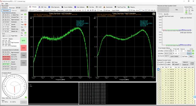 Esperimenti, emissione radio del Sole con i radiotelescopi SPIDER: il software di controllo RadioUniversePRO