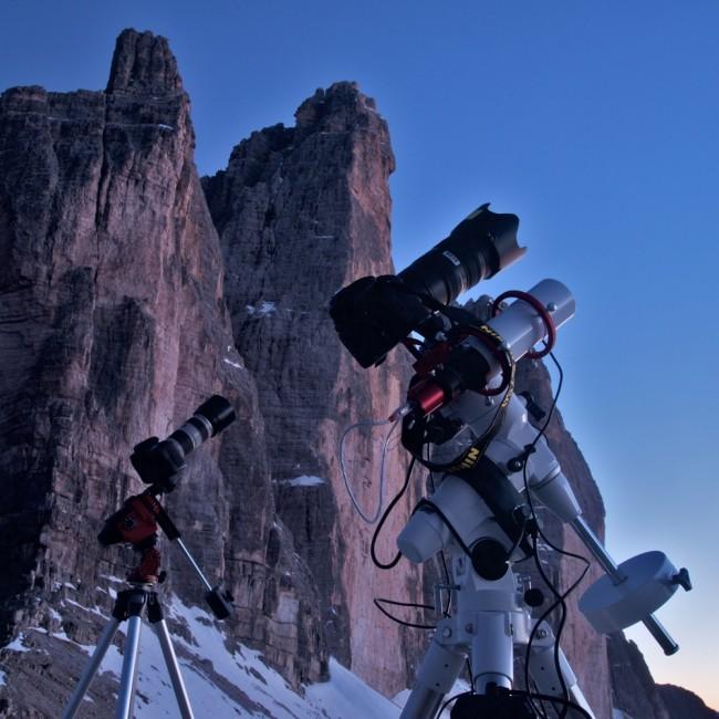 Star Adventurer contro EAGLE CORE kit: astrofotografia con reflex digitali
