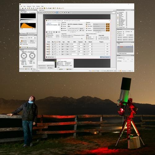 Software di automazione avanzati per astrofotografia con EAGLE