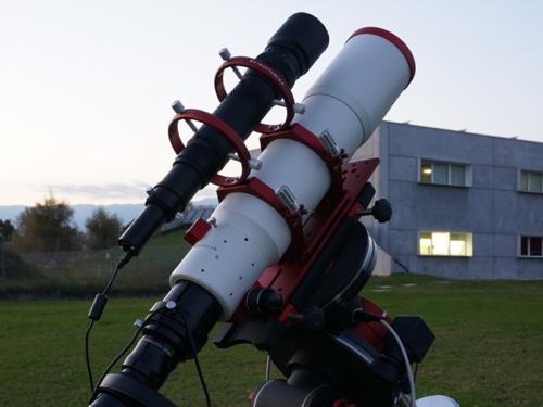 Flessioni in autoguida: gli anelli di guida PLUS consentono di sostenere il telescopio di guida evitando pericolose flessioni.