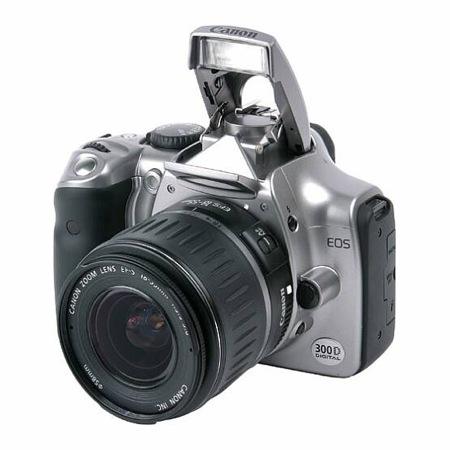 Astrofotografia - introduzione: la Canon EOS 300D è stata, per molti astrofili, la prima camera digitale usata in astrofotografia.