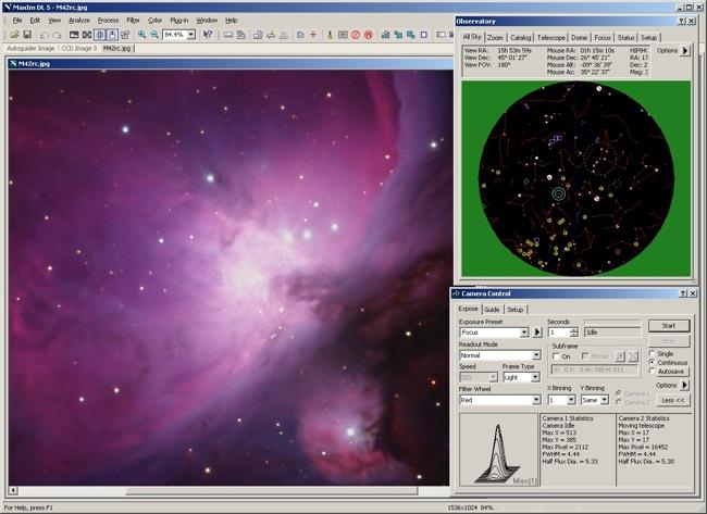 Softwares for Eagle: MaximDL