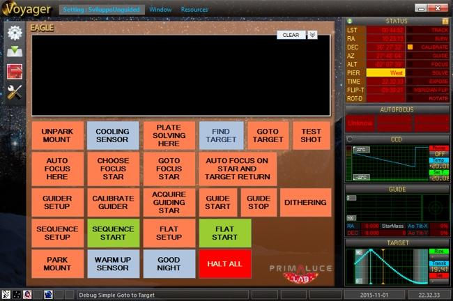 Softwares for Eagle: Voyager