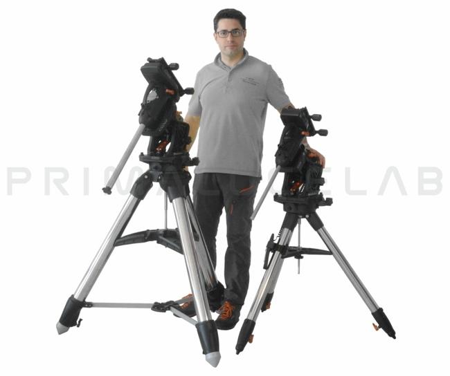 Celestron CGX and CGX-L mounts: dimensions comparison