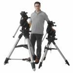 Montature Celestron CGX e CGX-L: dimensioni a confronto