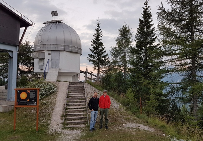 Remote observatory control with EAGLE: Col Drusciè astronomical observatory