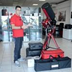 Trasportare un grande telescopio con EAGLE