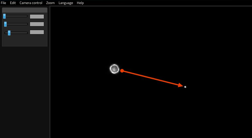 ESATTO come focheggiatore per Schmidt-Cassegrain e EdgeHD: l'image shift genera uno spostamento dell'immagine durante la messa a fuoco con il focheggiatore interno.